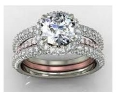 Diamond engagement ring is one of the most engaging