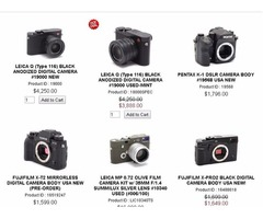 Buy Digital Camera Online USA at Popflash Photo with Reasonable Price