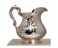 Gorham Art Nouveau Sterling Silver Water Pitcher