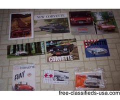 1963 Corvette orig Sales Brochure
