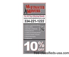 10% OFF local moves