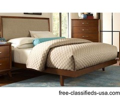 Queen bed and mattress set