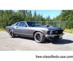 1970 Ford Mustang Restomod Coupe For Sale in Anchorage