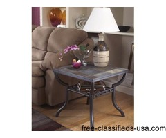 2 END TABLES, DESIGN BY ASHLEY
