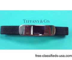 Tiffany & Co 1837 I.D. Mesh Stretch Bracelet SS