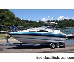 1988 Bayliner 2455 with Trailer and cover