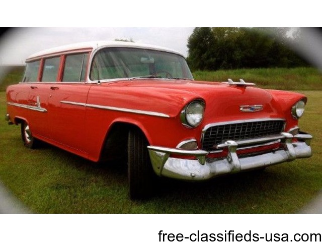 1955 chevrolet bel air beauville wagon for sale cars fort smith arkansas announcement 38192. Black Bedroom Furniture Sets. Home Design Ideas