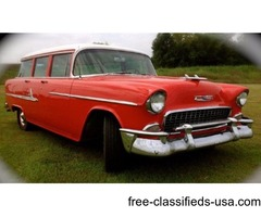 1955 Chevrolet Bel-Air Beauville Wagon For Sale
