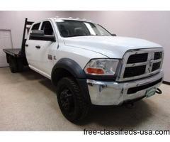 """2012 Dodge Ram 5500 4x4 6.7 Diesel Crew Cab Automatic 84"""" Cab"""