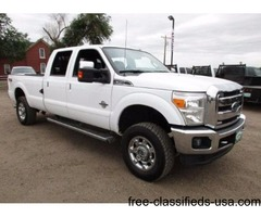 2013 Ford F350 4wd Diesel Crew Cab Long Bed Automatic