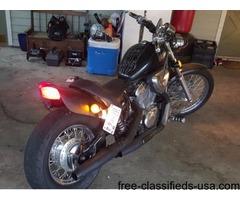 06 Custom Honda Shadow VLX