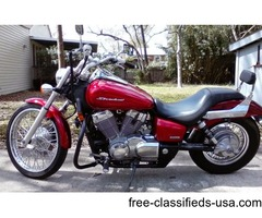 2009 honda shadow spirit 750cc