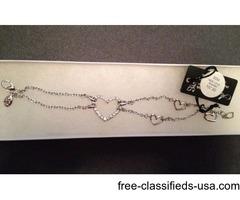 "Annaleece Inspiration bracelet 7"" nwt"
