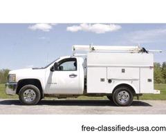 2010 Chevy 2500 HD 4x4 Utility Truck