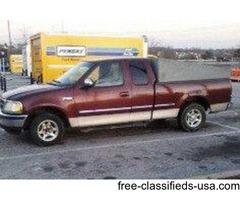 1997 Ford F150 4.2Litre V6 Pickup truck
