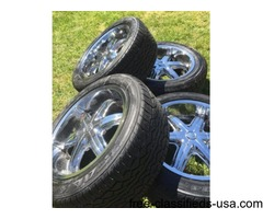 20 IN WHEELS WITH TIRES 4