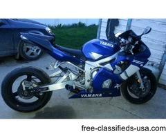 2001 Yamaha R6 YZF