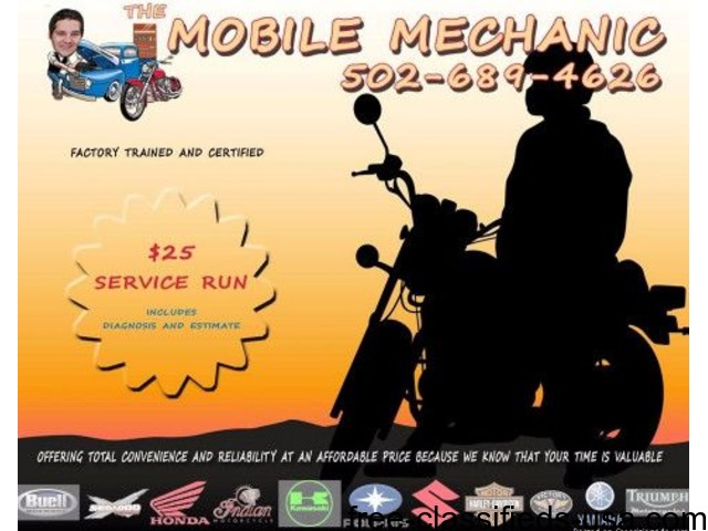 The Mobile Mechanic   experienced, trained and dependable! - Auto