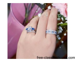 New 925 Sterling Silver rings @ 6Grape