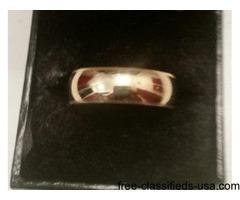 9K Gold Mens Ring For Sale Like New - $175