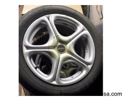4 Alloy Polo Rims with tires