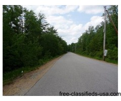 3 Acres in Lebanon, Maine ~ Choose Your Building Package