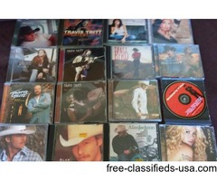 Movies and cd's for sale