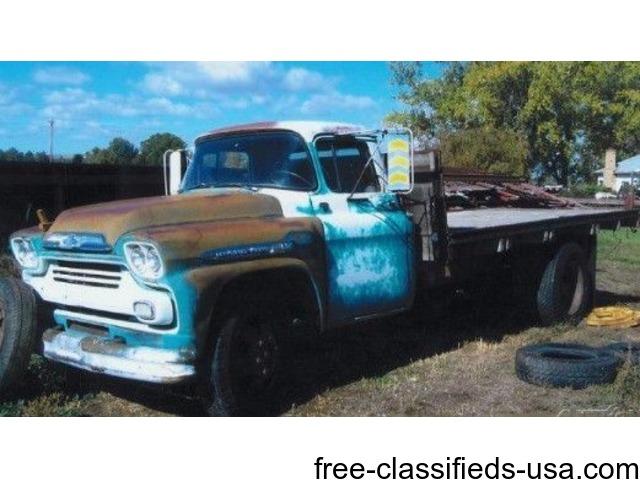 1959 chevrolet 2 ton viking truck for sale in billings trucks commercial vehicles billings. Black Bedroom Furniture Sets. Home Design Ideas