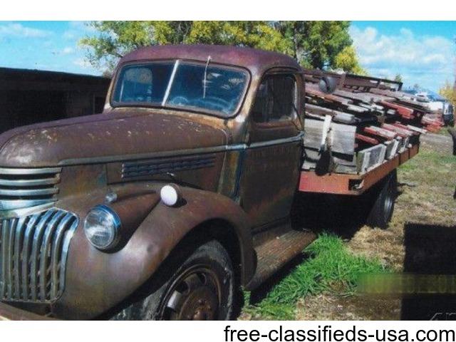 1946 chevrolet 1 ton truck for sale in billings trucks commercial vehicles billings. Black Bedroom Furniture Sets. Home Design Ideas