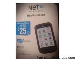 LG 306G Touchscreen Phone