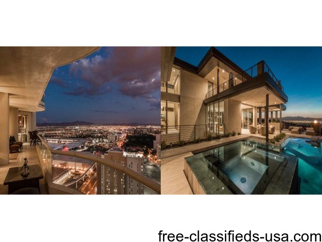 Las vegas luxury homes for sale houses apartments for Luxury home builders usa