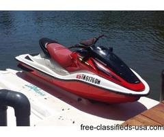 2004 Honda Turbo F-12X Aquatrax jet ski 3 seater Personal Watercraft