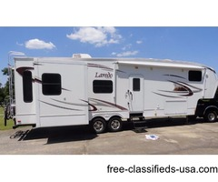 2010 KEYSTONE LAREDO, ONE OWNER, LIKE NEW