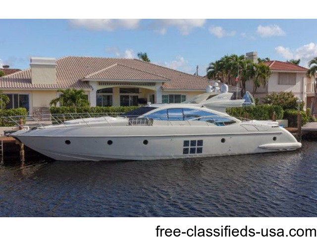 2010, 68′ AZIMUT 68S For Sale | free-classifieds-usa.com