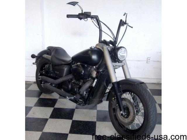 2012 Honda Vt750c Shadow Phantom 750 14 Vt750 Black Motorcycles