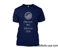 Dream USA t-shirt, 15% off