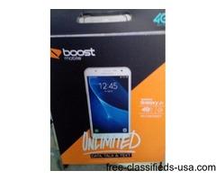 Boost mobile Samsung j7 smartpphone