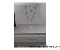 "13"" Apple MacBook w/ 3 yrs Apple Care"