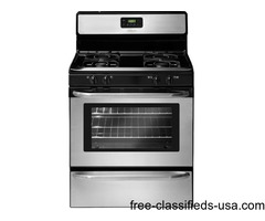 Frigidaire Stainless Steel Kitchen Package * Gas Stove * Brand New