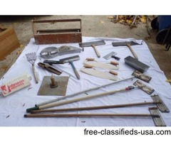 Drywall Taping Finishing Tools