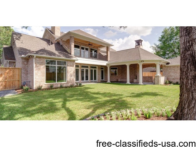 Custom home builders in oak forest builders houston for Luxury home builders usa