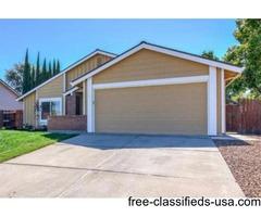 Home for Sale in Sacramento, CA (3bd 2ba)