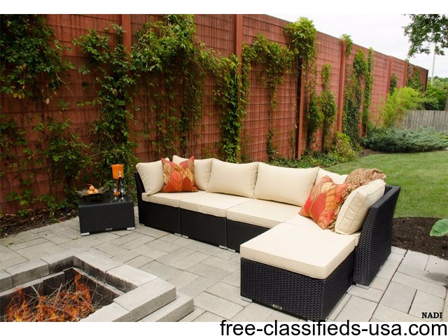 Outdoor resin wicker furniture sale up to 70 off for Garden furniture 70 off
