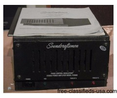 Soundcraftsmen Pcr-800 Power Amp