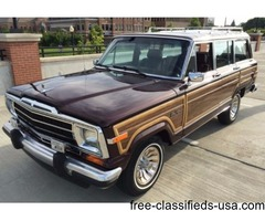 1987 Jeep Wagoneer SUV