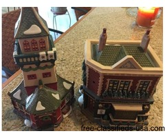 Dept 56 dickens lighted village pieces