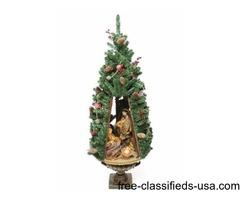 40-inch Religious Nativity Scene Inside Lighted Christmas