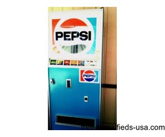 Working Pepsi machine