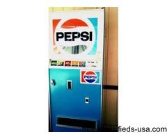 Working Pepsi machine