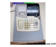 Casio PCR-265P Electronic Cash Register with Keys